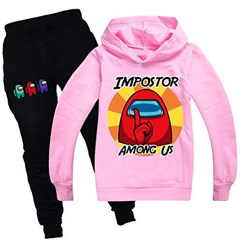 2020 onder ons spel Kids Casual trui pak hoodies en broek