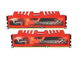 G.Skill RipjawsX F3-14900CL9D-8GBXL 8GB (2 x 4GB) DDR3 1866MHz Desktop Memory Module by G.Skill