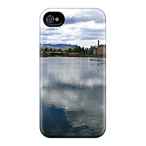[LGUgBRD4771qXKfE]premium Phone Case For Iphone 4/4s/ Lake Reflections Tpu Case Cover