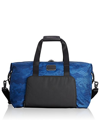 Tumi Alpha 2 Double Expansion Travel Satchel Duffel Bag, Navy, One Size - Tumi Duffle Bag