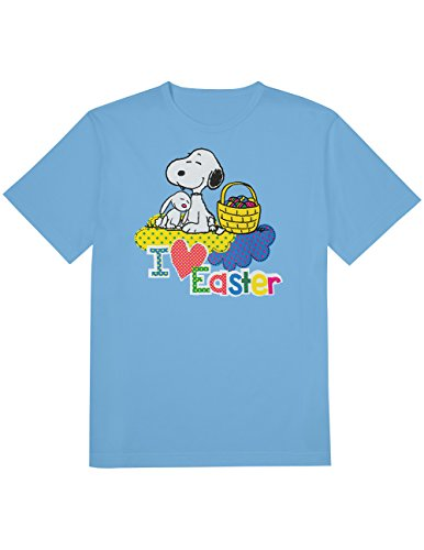 Adults Snoopy I Love Easter T-shirt. S to XXL