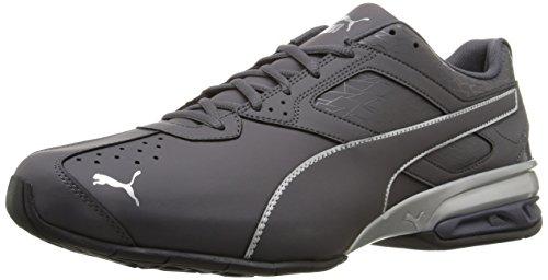 PUMA Men's Tazon 6 Fracture FM Sneaker, Periscope Silver, 11 M US