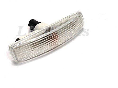 (LAND ROVER LR2 LR3 LR4 LAMP SIDE MARKER REPEATER CLEAR WHITE LR007954 NEW)