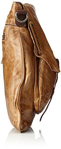 Taschendieb Td0011ol - Borse a tracolla Donna, Grün (Olive), 1x24.5x22 cm (B x H T)
