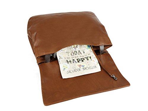 SALVADOR BACHILLER Flap Bag L - Gabriella AC1687 - Candy Caramelo