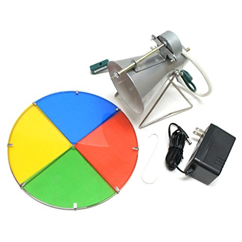 Kurt Adler Early Years Revolving Color Wheel Red/Blue/Green/Yellow (Sale Aluminum Vintage Trees Christmas For)