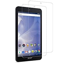 "(2 Pack) Acer Iconia One 7 B1-780 Screen Protector, Gzerma [Shockproof] [Touch Accuracy] [Bubble Free] [Easy Installation] [High Definition Clear] Protective Durable Film for Acer 7"" HD Iconia Tablet"