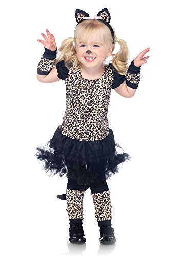 Leg Avenue Leopard Skirt - Leg Avenue Children's Little Leopard Costume
