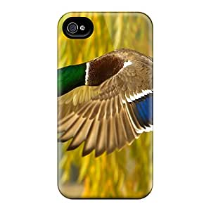 Top Quality Case Cover For Iphone 4/4s Case With Nice Mallard Duck Appearance
