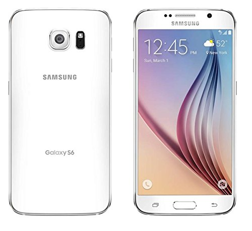 Samsung Galaxy S6 SM-G920R4 For Use With US Cellular - White 32GB (Us Cellular Prepaid Phones)