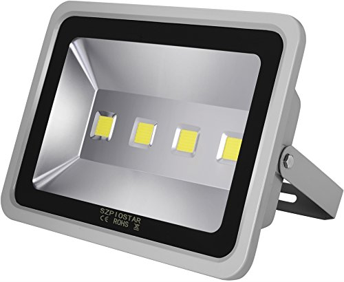 SZPIOSTAR Outdoor 200W LED Flood Light 20000 Lumens, Dayl...