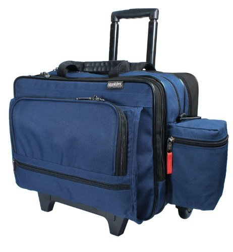 Amazon Com Rolling Med Bag With Ez View Features Health Personal