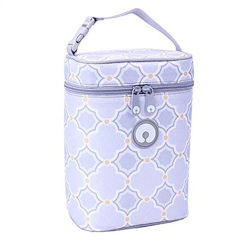 Boppy Bottle Bag, Somerset, Blue/Grey (Tote Somerset)