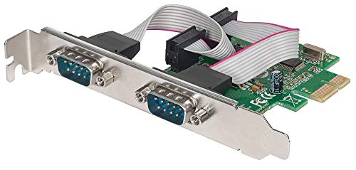 - Manhattan Products 152082 Manhattan Serial Pci Express Card Quickly And Easily Adds Two Db9 Ports To Pci E