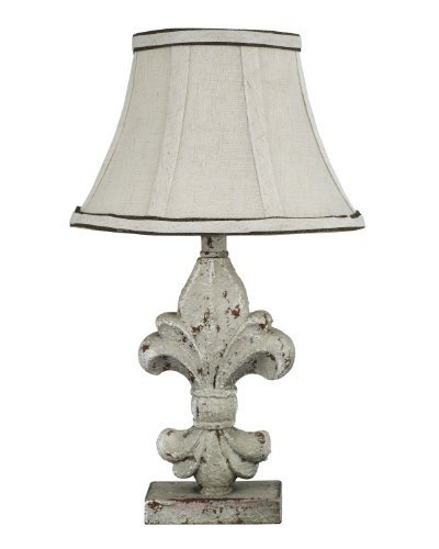AHS Lighting L2073A-UP1 Fleur De Lis Acccent Lamp, 2