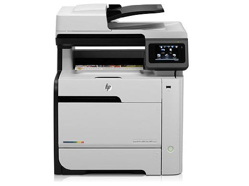 HP Laserjet Pro 400 Color MFP M475DW Wireless Color Photo Printer with Scanner, Copier and Fax (Hp Basic Printer)