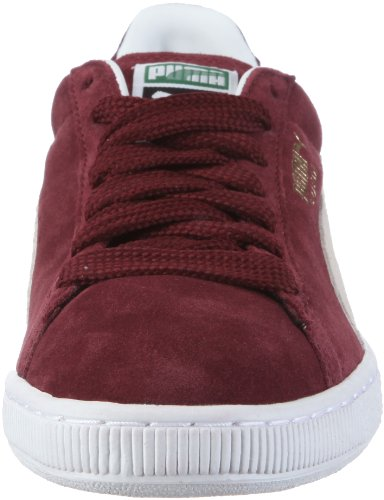 Multicolore Puma L Rot Wedge Team Homme basses Sneakers Classic Team Burgundy White xf4wqxp