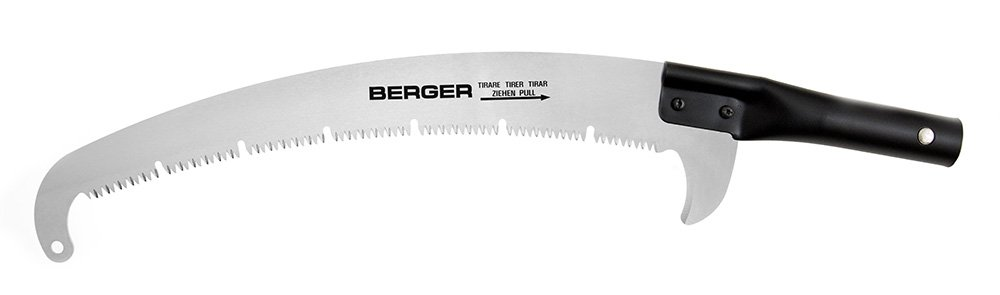 Berger ArboRapid Saw with Broaching Teeth, Black, 40x12x10 cm by Berger Instruments