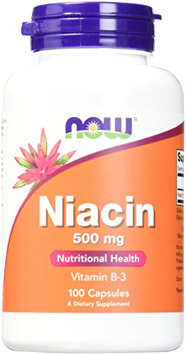 Now Foods Niacin Capsules Count
