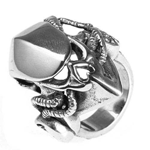 Stainless Steel Ring Promise Anniversary Polished Special Shaped Silver Size 13 ()