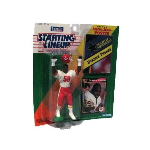 Starting Lineup Special Series 4 inch Derrick Thomas Action Figure by Starting Line Up
