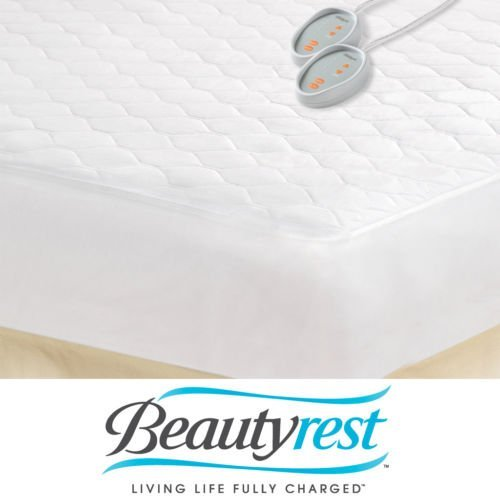 Beautyrest Queen-size Heated Electric Mattress Pad. Free