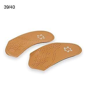 Amazon.com: Lijuan Qin 3/4 - Plantillas de piel con soporte ...