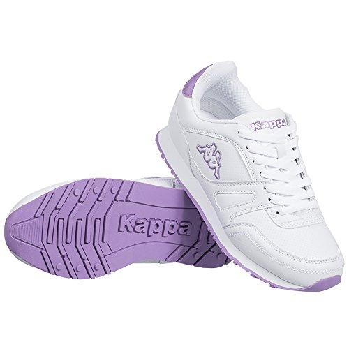 Kappa Tiempo Libre Guantes New Annes Unisex Zapatillas púrpura-blanco