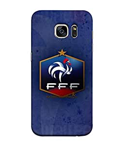ColorKing Football France 18 Blue shell case cover for Samsung S7