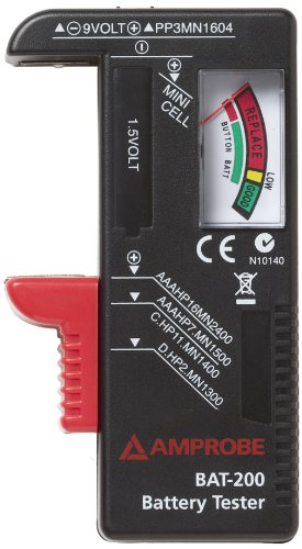 Handheld Battery Tester (Amprobe BAT-200 Battery Tester)