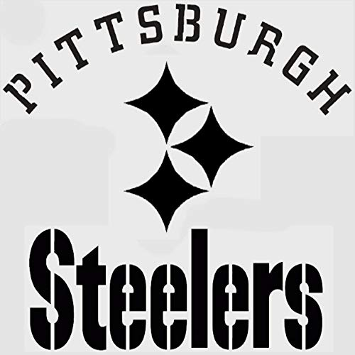 Pittsburgh Steelers Stencil Football Stencils Sports Mancave Signs Design Size (11