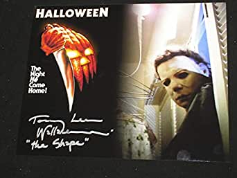 TOMMY LEE WALLACE Signed Custom 8x10 Photo Michael Myers Halloween Autograph C