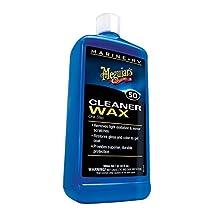 Meguiar's M5032 Marine/RV One Step Cleaner Wax - Liquid - 32 oz.