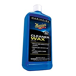 Meguiar\'s M5032 Marine/RV One Step Cleaner Wax - Liquid - 32 oz.