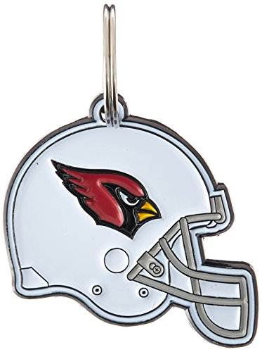 NFL Dog TAG - Arizona Cardinals Smart Pet Tracking Tag. - Best Retrieval System for Dogs, Cats or Army Tag. Any Object You'd Like to Protect ()