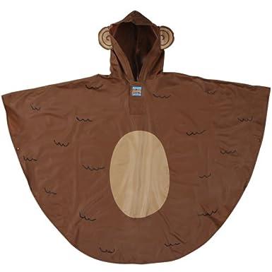 Stephen Joseph Little Boys' Rain Poncho Monkey One Size SJ-1007-B-Monkey-One Size