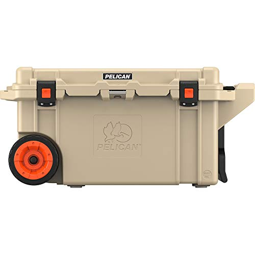 Pelican Elite 80 Quart Wheeled Cooler (Tan) (Ice Elite)