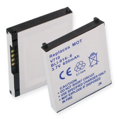 (Replacement Lithium Ion Battery by Empire Motorola E815, E816, SNN5615 BLI-914-.6)