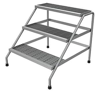 Amazon.com: VESTIL ssa-3 W soporte paso de aluminio, 3 paso ...