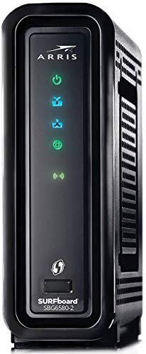 ARRIS SBG6580-2 Surfboard Cable Modem with Dual-Band N600 Wi