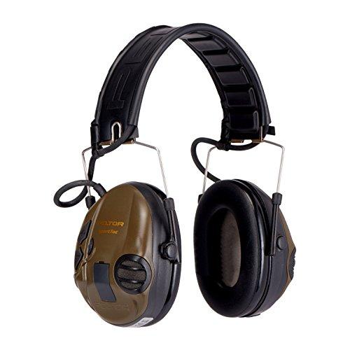 3M Peltor SportTac - Casque anti-bruit - Protection auditive pour la chasse contre les bruits de fusil - Atténuation 26… 3