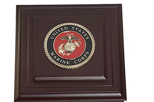Allied Frame US Marine Corps Medallion Desktop ()