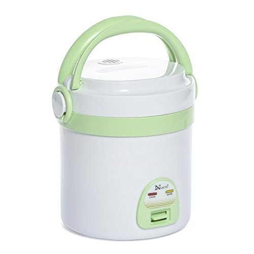Travel Rice Cooker, Mini Rice Cooker By C& H Solutions Narita NRC-101A
