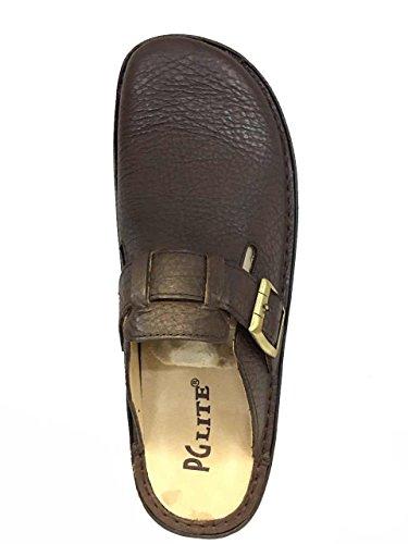 1978 Slides Mens Leather Brown Slipper PG Lite Pq8ASwOX