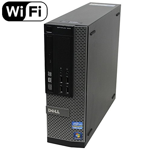 Dell Optiplex 990 Desktop Computer (Intel Quad-Core i7-2600 up to 3.4GHz, 16GB RAM, 2TB HDD, DVD, WiFi, VGA, DisplayPort, Windows 10 Professional) (i7 16GB 2TB) (Certified Refurbished)