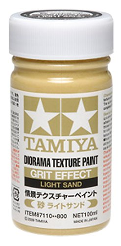 Tamiya Diorama (Diorama Textured Paint - Grit Effect Light Sand - Paint - Tamiya)