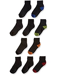 Boys' 10 Pack Ankle Socks