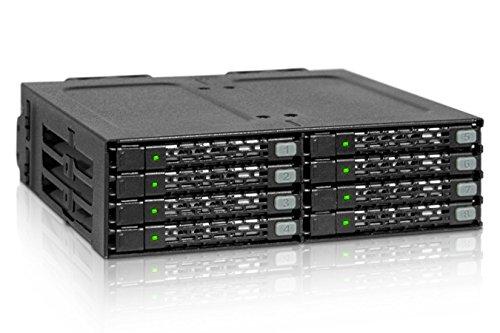 "10 opinioni per Icy Dock MB998SP-B HDD/SSD enclosure 2.5"" Black HDD/SSD enclosure- HDD/SSD"