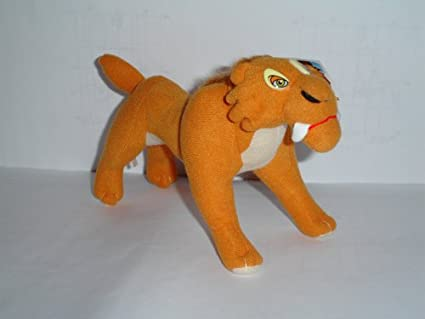 Amazon Com Ice Age 2 Diego The Sabertooth Tiger 15 Plush Doll Toys Games
