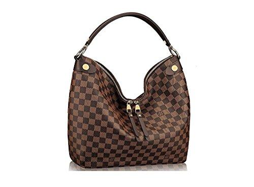 LV Damier Duomo Hobo Shoulder Handbag Article:N41861 Made in France
